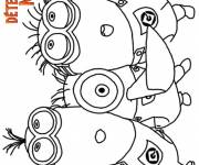 Coloring pages The Despicable Me Minions