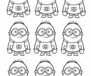 Coloring pages Minions coloring film