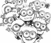 Coloring pages Minions movie for children