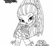 Coloring pages Monster High Baby Character