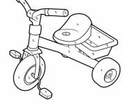 Coloring pages Bicycle mystery