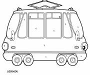 Coloring pages Classic Tramway Mystery