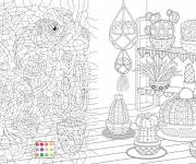 Coloring pages Magic Online