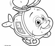 Coloring pages Mystery Helicopter