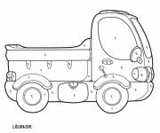 Coloring pages Mystery Pickup