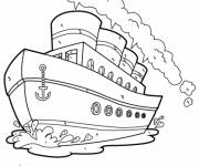 Coloring pages Mystery Ship