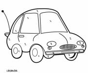 Coloring pages Vector mystery