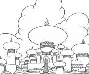 Coloring pages Aladdin's Palace