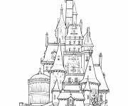 Coloring pages British palace coloring