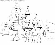 Coloring pages Castle of the Kings