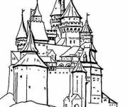 Coloring pages European Palace