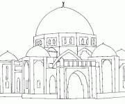 Coloring pages Stylized palace