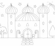 Coloring pages Sultan's Palace