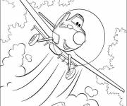 Coloring pages Dusty Plans in Flight