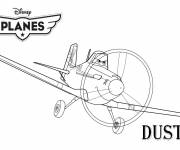 Coloring pages Planes Dusty Pixar
