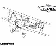 Coloring pages Planes Leadbottom Pixar