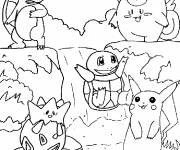 Coloring pages Cartoon pokemon