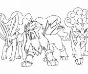 Coloring pages Legendary Pokemon Online