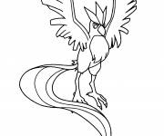 Coloring pages Pokemon Articuno