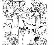 Coloring pages Cartoon Pokemon online