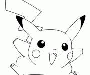 Coloring pages Pikachu Online