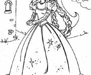Coloring pages Barbie and the secret of the fairies