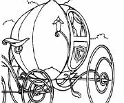 Coloring pages Cinderella's magic carriage
