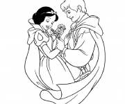 Coloring pages The charming white