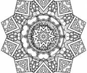 Coloring pages Psychedelic for adults