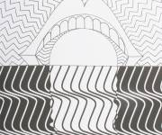 Coloring pages Psychedelic the mouth