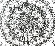 Coloring pages Psychedelic to decorate