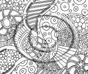 Coloring pages Psychedelic to download