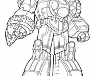 Coloring pages Giant Power Rangers
