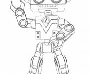 Coloring pages Great Lilly robot