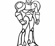 Coloring pages War Robot