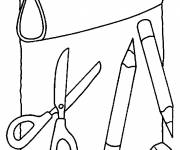 Free coloring and drawings Easy kit Coloring page