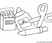 Free coloring and drawings Nursery school material Coloring page