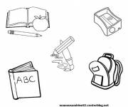 Free coloring and drawings Study material Coloring page