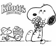 Coloring pages Cartoon snoopy