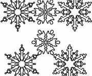 Coloring pages Adult Snowflake