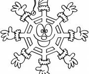 Coloring pages extraordinary Snowflake