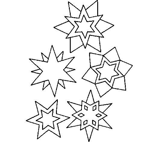 Free coloring and drawings Snowflake adult for children Coloring page