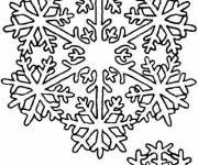 Coloring pages Snowflake christmas holiday