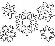 Coloring pages Snowflake downloadable