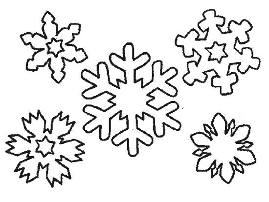 Free coloring and drawings Snowflake downloadable Coloring page