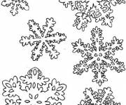 Coloring pages Snowflake drawing