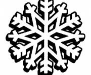 Coloring pages Snowflake for boys and girls