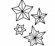 Coloring pages Snowflake to print