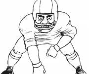 Coloring pages American Football