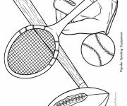 Coloring pages Maternal sport